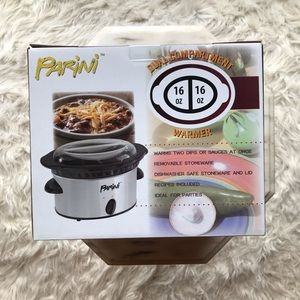 Parini Dual Compartment Slow Cooker New With Tags
